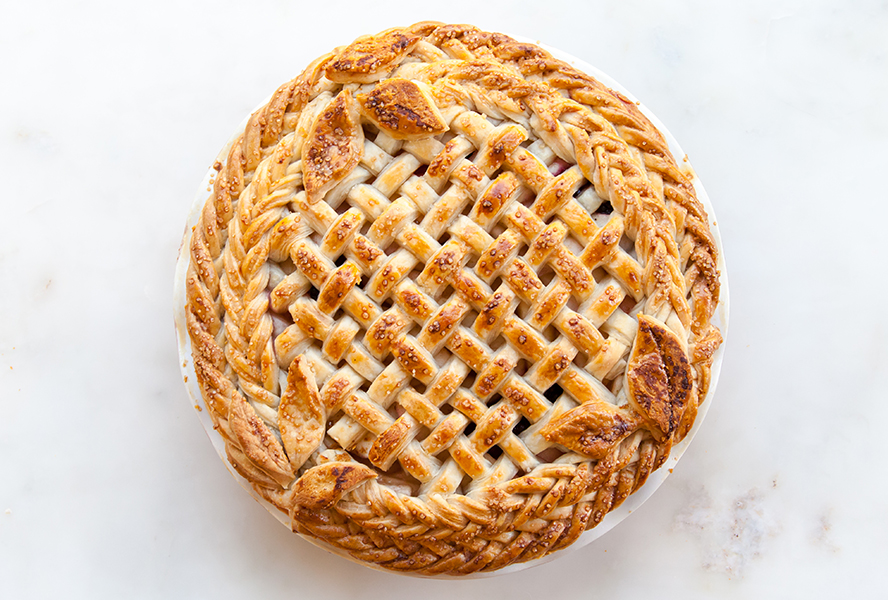 fishtail lattice pie