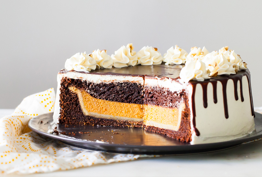 Chocolate Pumpkin Piecaken