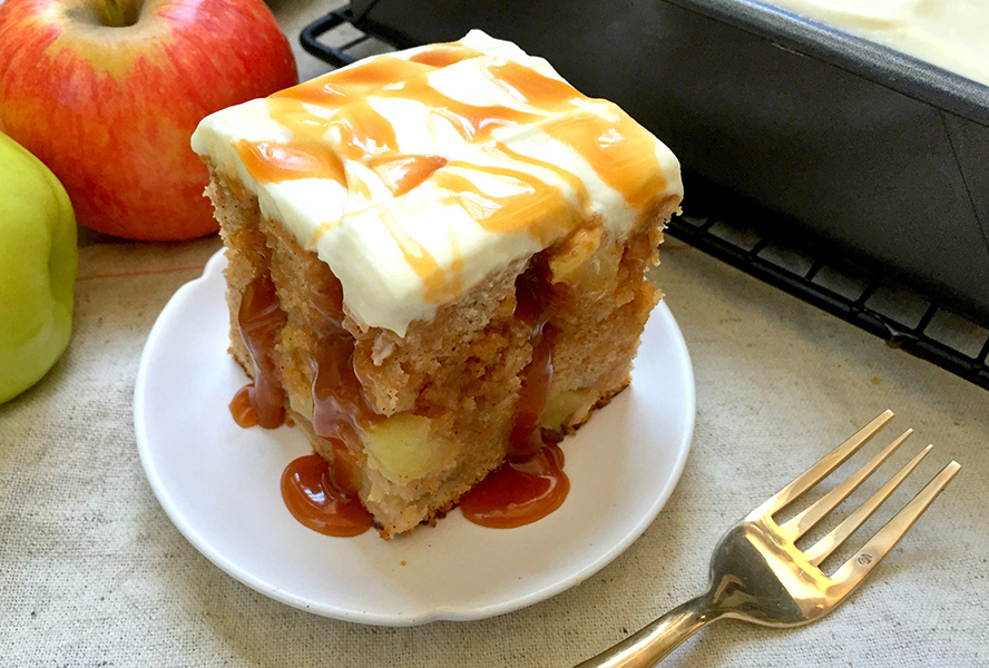 Apple Poke Cake