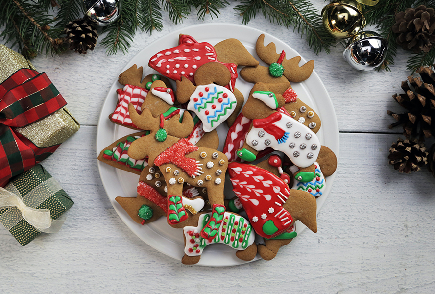 The Cutest Ugly Christmas Sweater Cookies
