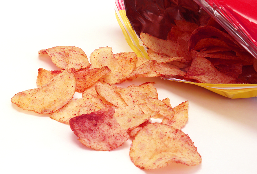 Ketchup Chips