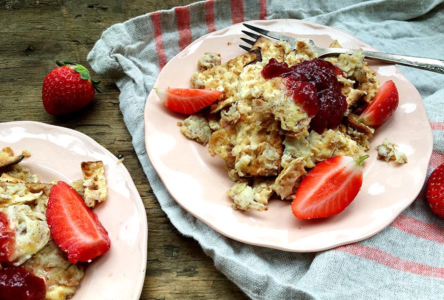 matzo brei strawberry