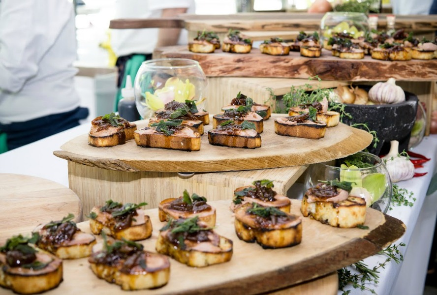 Foie Gras Crostini Toronto Taste
