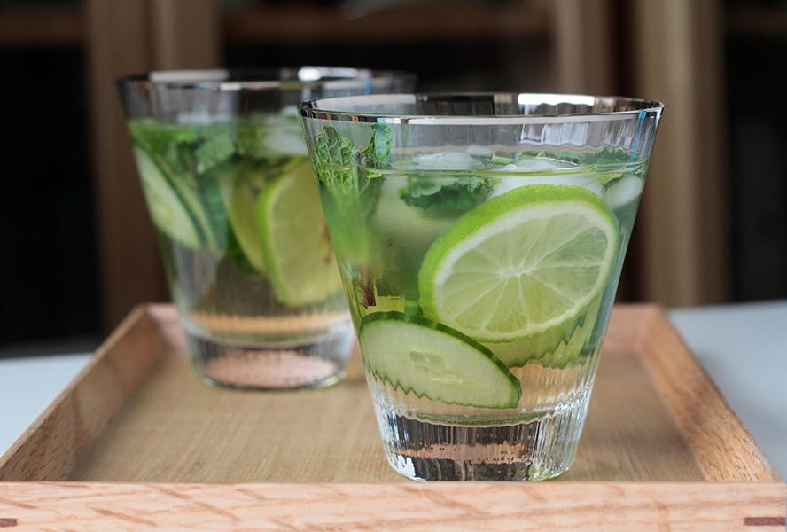 Cucumber Gin Sangria