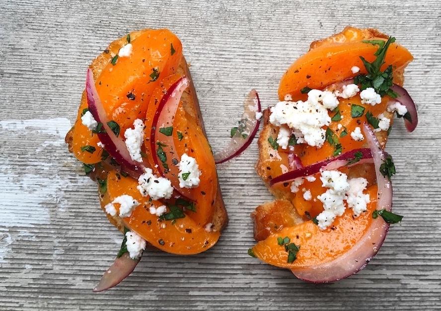 Apricot-Basil