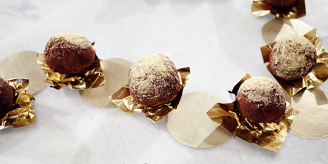 Chai Chocolate Truffles