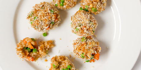 Chicken Fried Rice Balls