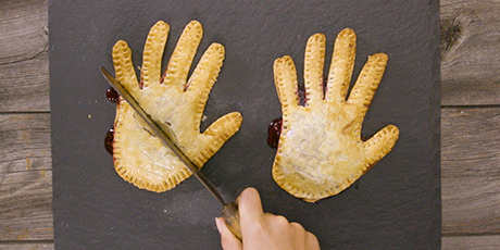 'Bloody' Berry Hand Pie