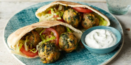 Eat-Your-Veggies Mediterranean Meatballs