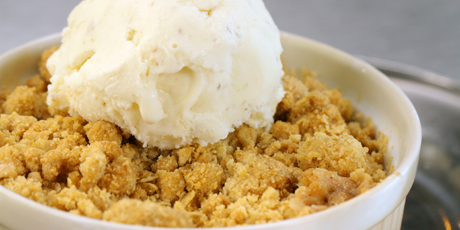 Smoked apple crumble recipes food network canada smoked apple crumble forumfinder Images