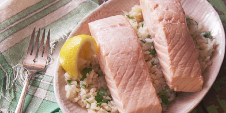 Traditional Poached Salmon