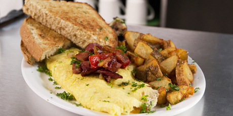 Regal Diner Omelette and Toast