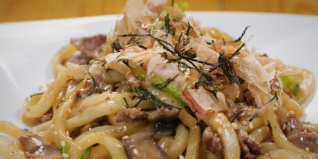 Yaki-Udon (Pan Fried Noodles)