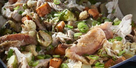 Michael Smith's Roast Chicken and Root Vegetables