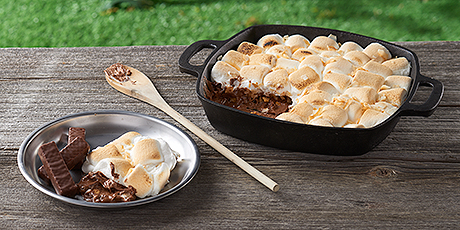 Toasted Coconut S'Mores Dip