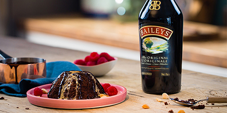 Baileys Sweet Chocolate Volcano