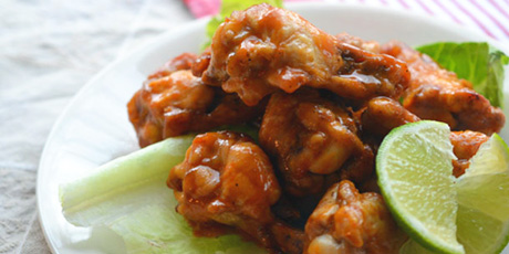 Lime, Coconut and Chili Chicken Wings