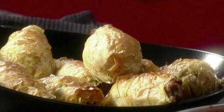 Honey mustard chicken drumsticks recipes food network canada drumsticks en croute forumfinder Choice Image