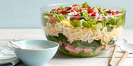 7 Layer Pasta Salad