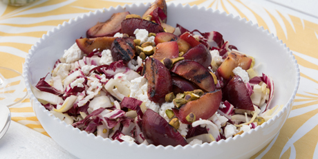 Grilled Plum Salad