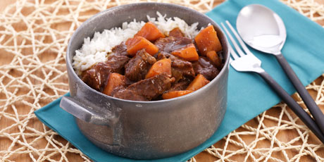 Coffee-Braised Beef Stew