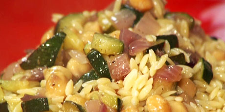 Orzo with Chick Peas
