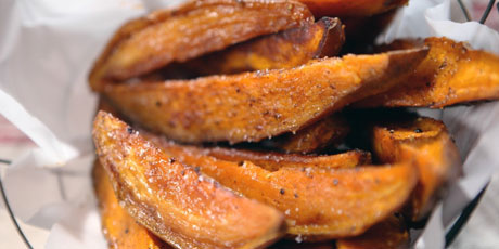 Sweet Potato Steak Fries