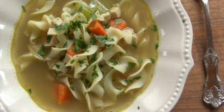 The Pioneer Woman's Chicken Noodle Soup