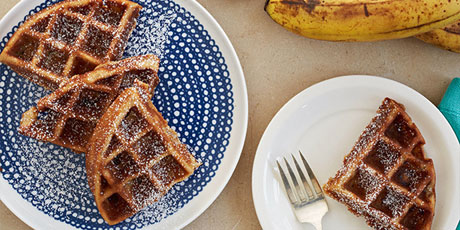 Waffled Banana Bread