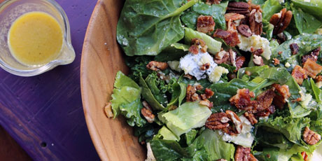 Sweet Greens with Maple Vinaigrette
