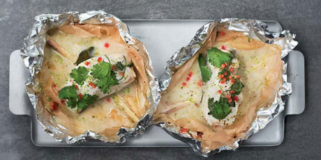 Baked Fish Packets