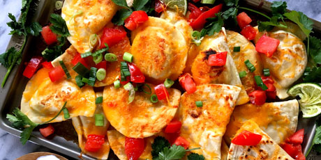 Loaded Pierogi Nachos