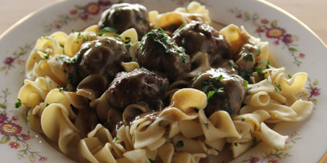 The Pioneer Woman's Swedish Meatballs