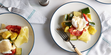 Carb Buster Breakfast with Hollandaise