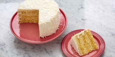 Luscious Lemon Coconut Cake