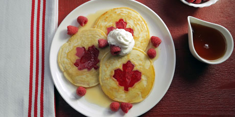 Oh Canada Pancakes