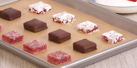 Chocolate Covered Raspberry Jellies Recipes Food Network