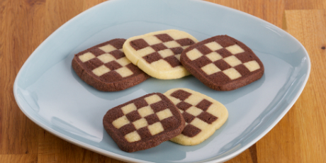 Checkerboard Icebox Cookies