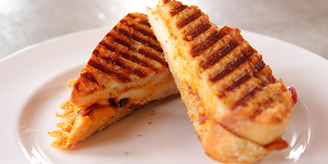 The Best Chicken Bacon Ranch Panini