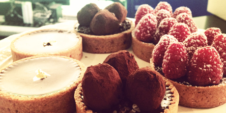 Chocolate Truffle Tart with 3 Variations