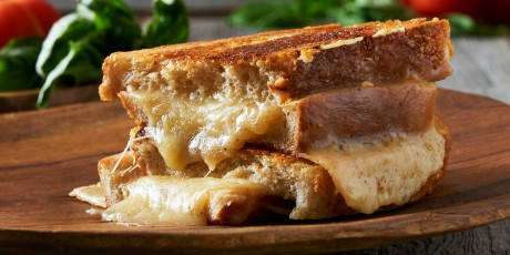 Roger Mooking's Grilled Cheese