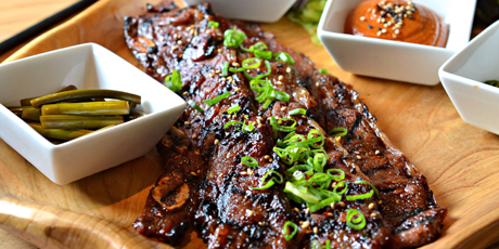 Galbi (Marinated Beef Short Ribs)