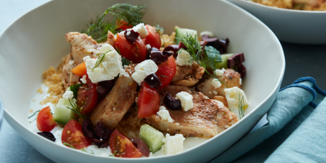 Instant Pot Greek Chicken Bowls