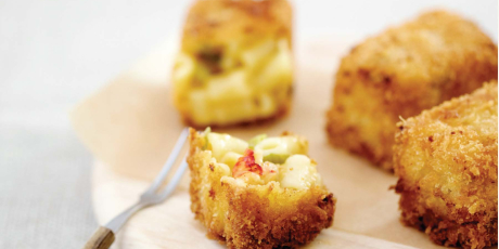 Lobster Mac 'n' Cheese Squares