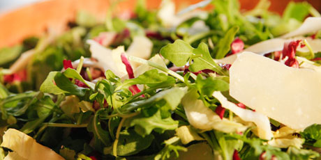 Arugula, Radicchio and Parmesan Salad