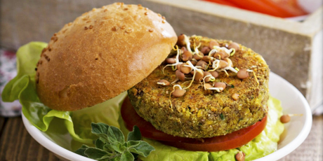 Oh My Chickpea Goodness Burger