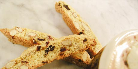 Almond and Cherry Biscotti