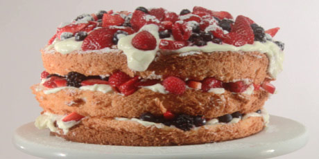 Angel Food Berry Shortcake