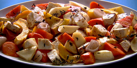 Anna Olson's Roasted Root Vegetables
