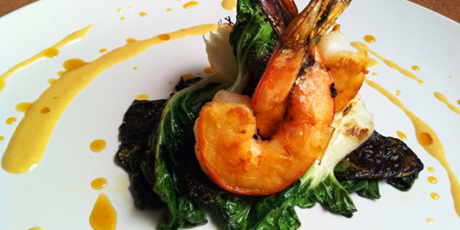 Aphrodisiac Prawns with Orange and Bergamot
